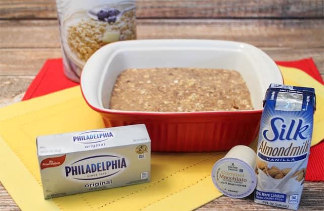 Tiramisu Oatmeal Bake ingredients|2CookinMamas