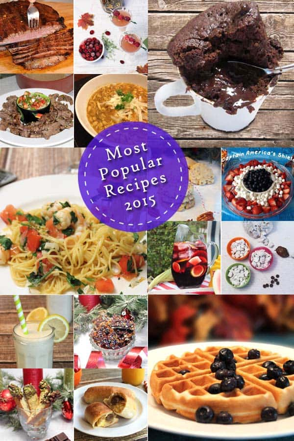 Top Recipes 2015 | 2CookinMamas - So much goodness and so little time. all favorites of readers with everything from main meals to dessert.