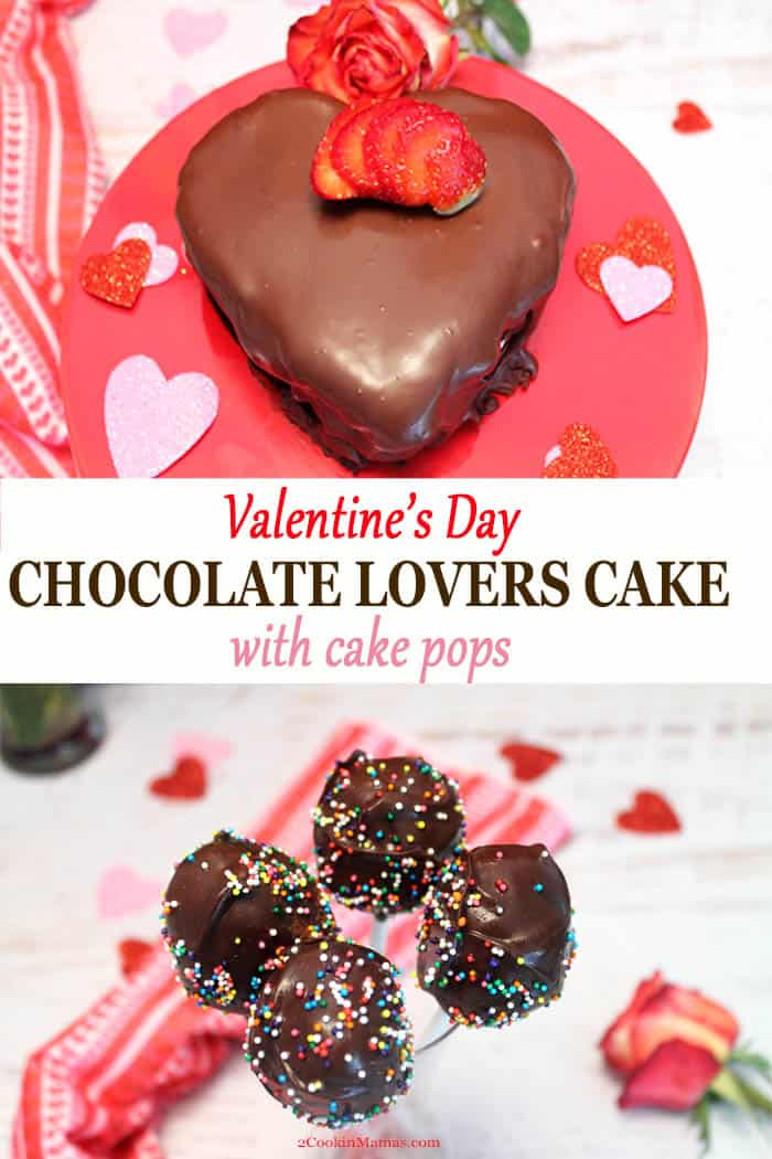 Chocolate Lovers Cake and Cake Pops