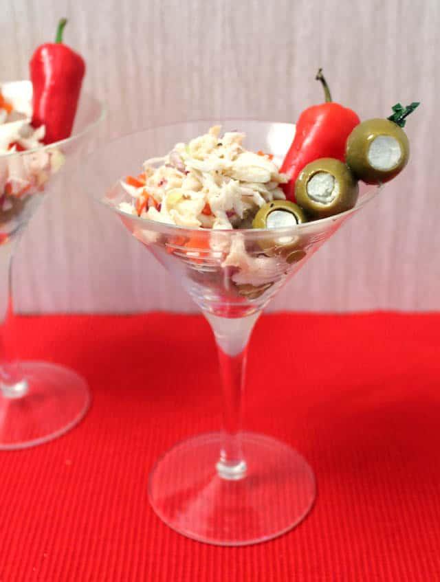 Crab Martini single|2CookinMamas