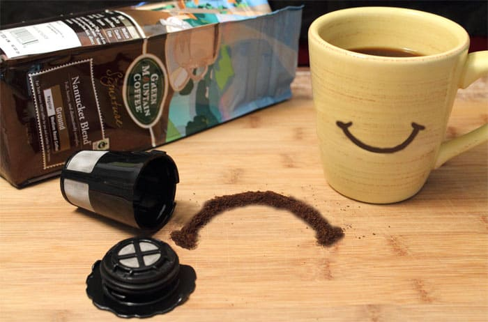 Keurig turns a frown upside down|2CookinMamas