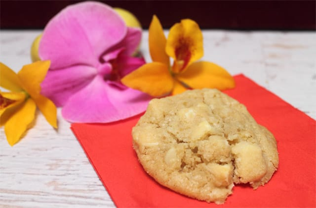 Key Lime White Chocolate Chunk Cookies single|2CookinMamas