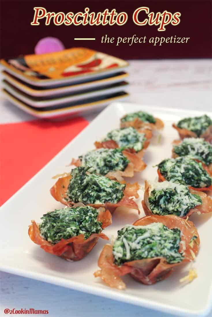 Super Bowl Sunday is made for appetizers like our simple but delicious cheesy Prosciutto Cups. Easy to make ahead & pop in the oven when guests arrive.