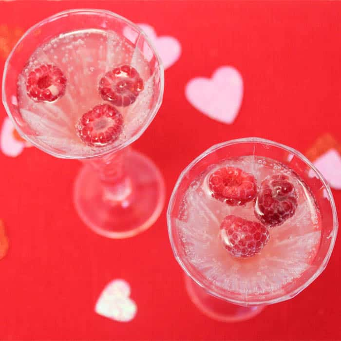 Valentine Wine Spritzer square|2CookinMamas