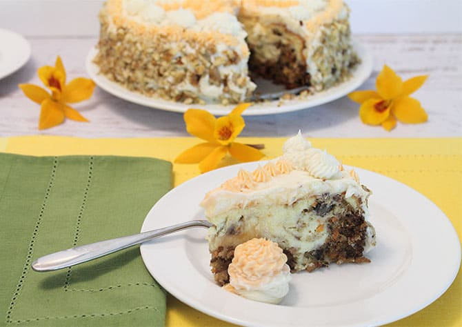 Carrot Cake Cheesecake 2 2CookinMamas
