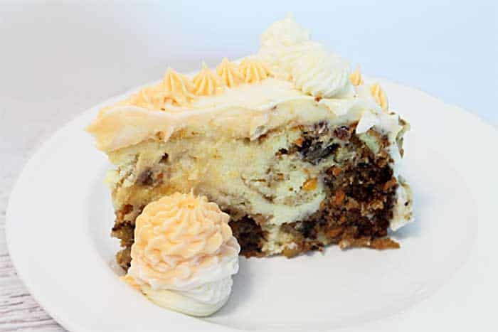 Carrot Cake Cheesecake single