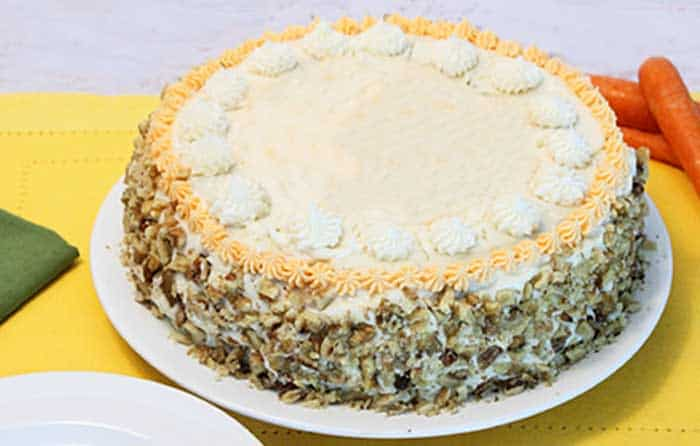 Carrot Cake Cheesecake whole