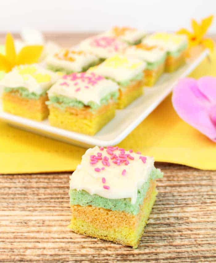 Citrus Sugar Cookie Bars tall | 2 Cookin Mamas