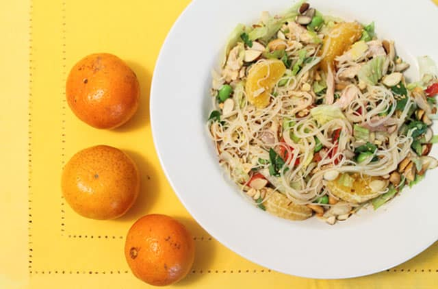 Mandarin Chicken Salad 640 | 2CookinMamas