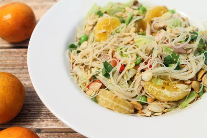 Mandarin Chicken Salad 670 | 2CookinMamas