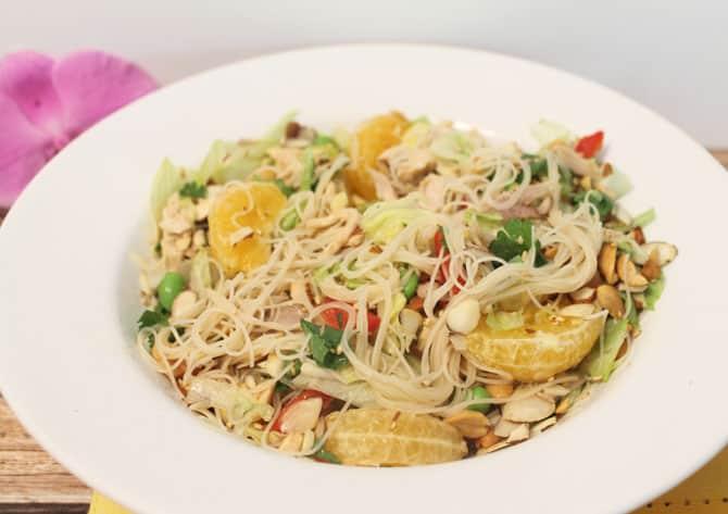 Mandarin Chicken Salad full | 2CookinMamas