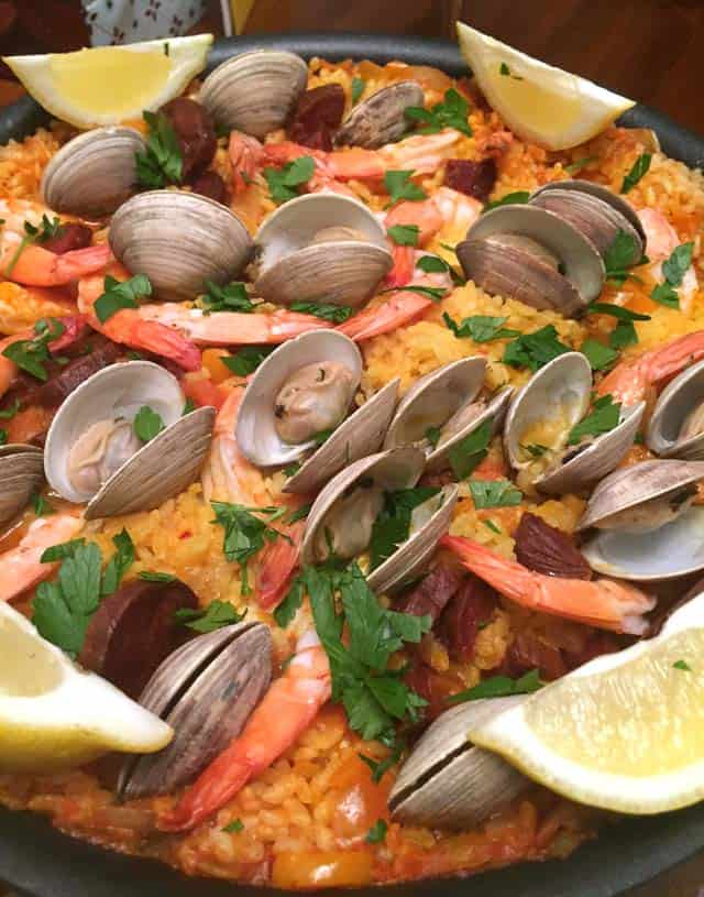 Paella close up|2CookinMamas