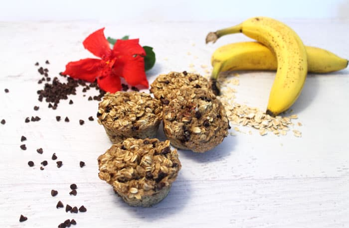 Banana Oatmeal Cups 2 | 2 Cookin Mamas