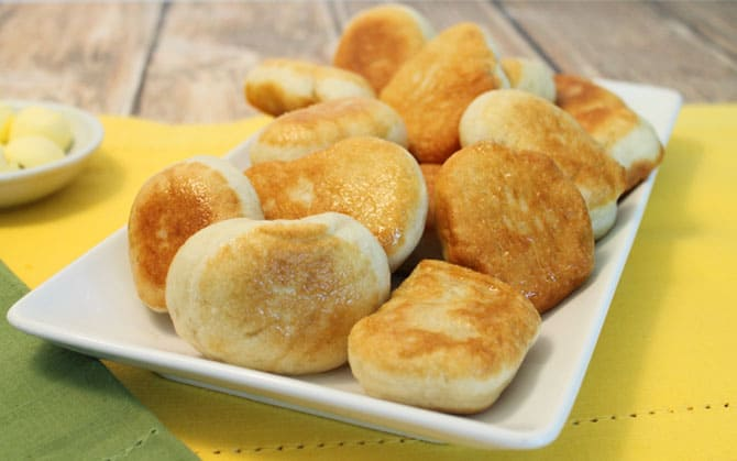 Bread Cakes plateful|2CookinMamas