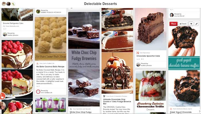Delectable Desserts board | 2CookinMamas