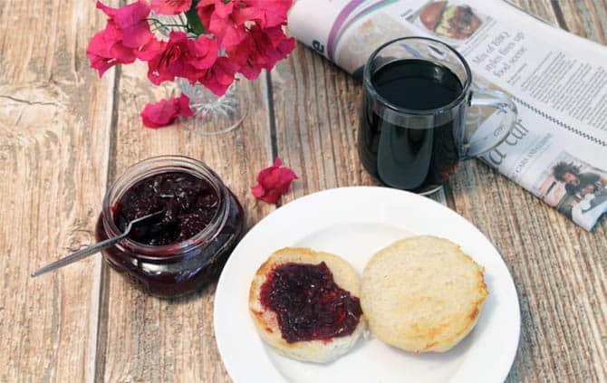 Plum Jam breakfast | 2 CookinMamas