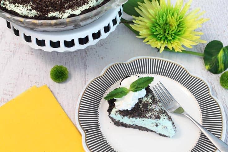 Grasshopper Pie 3 | 2 Cookin Mamas