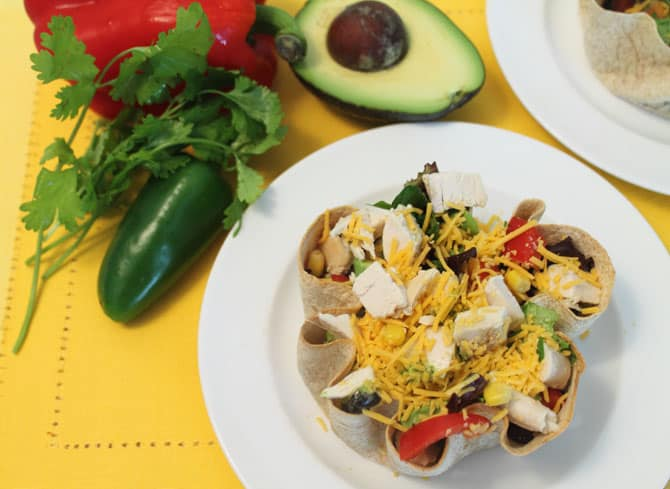 Mexican Chopped Salad 1   2 Cookin Mamas