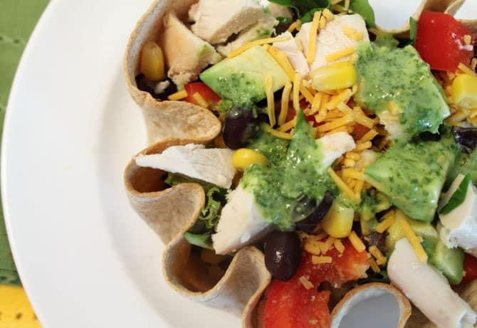 Taco Salad closeup 1 | 2 Cookin Mamas