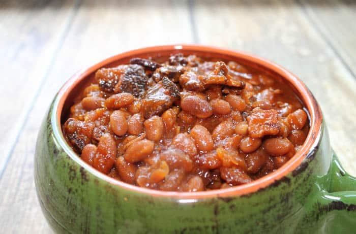 Bourbon Baked Beans 1 | 2 Cookin Mamas