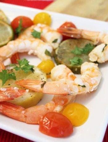 Cedar Plank Grilled Shrimp square 1 | 2 Cookin Mamas