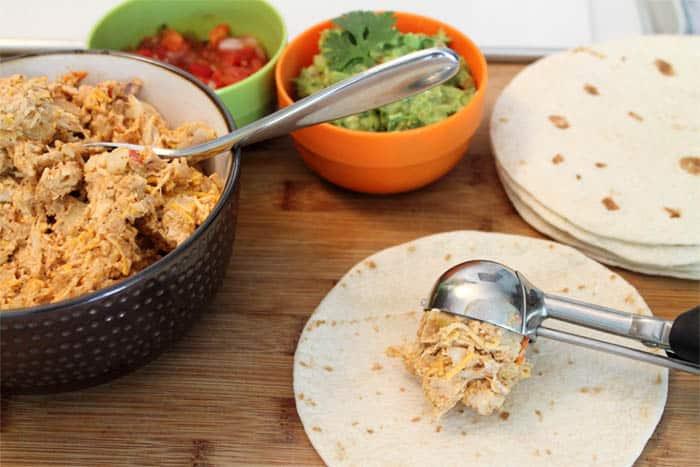 Chicken Taquitos Prep 1 | 2 Cookin Mamas