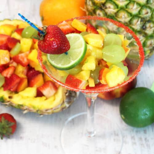 A Fruit Cocktail Dessert For Adults Only