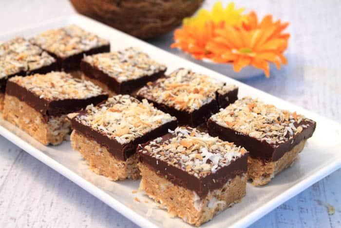 No Bake Almond Joy Bars 2 | 2 Cookin Mamas