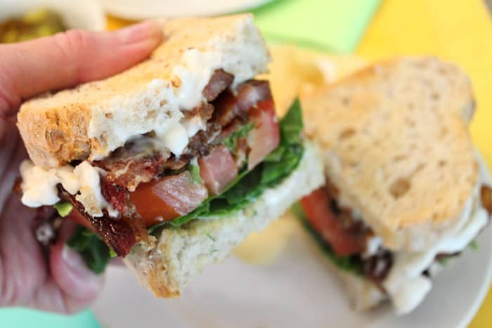 Kicked Up BLT Sandwich 3 | 2 Cookin Mamas