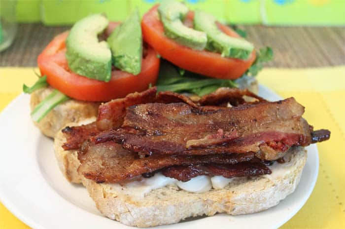 Kicked Up BLT Sandwich 5 | 2 Cookin Mamas