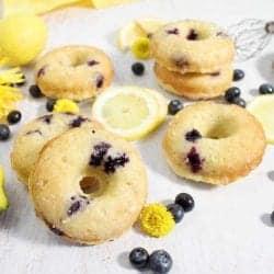 Lemon Blueberry Doughnuts square A1