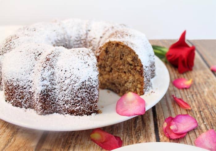 Louisiana Stranger Cake cut | 2 Cookin Mamas