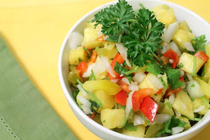 Pineapple Salsa 2 | 2 Cookin Mamas