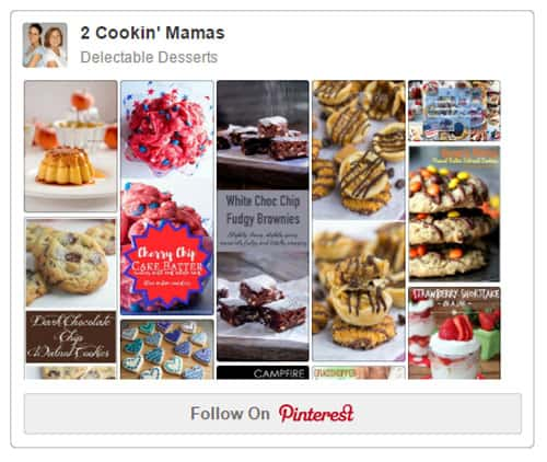 Pinterest Delectable Desserts board