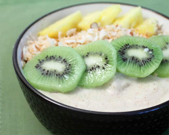 Tropical Coconut Smoothie bowl | 2 Cookin Mamas