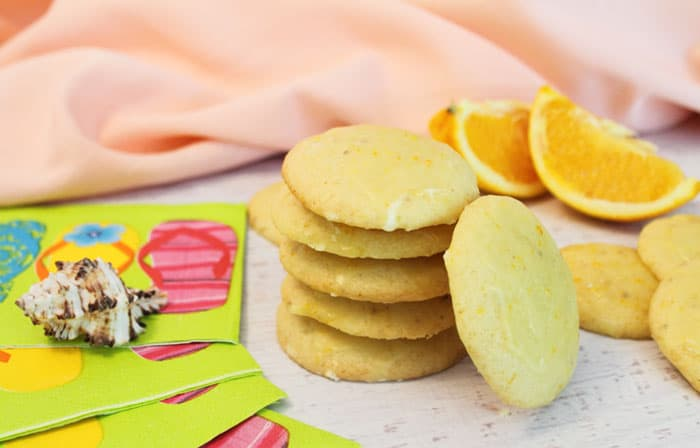 Orange Creamsicle Cookies 1 | 2 Cookin Mamas