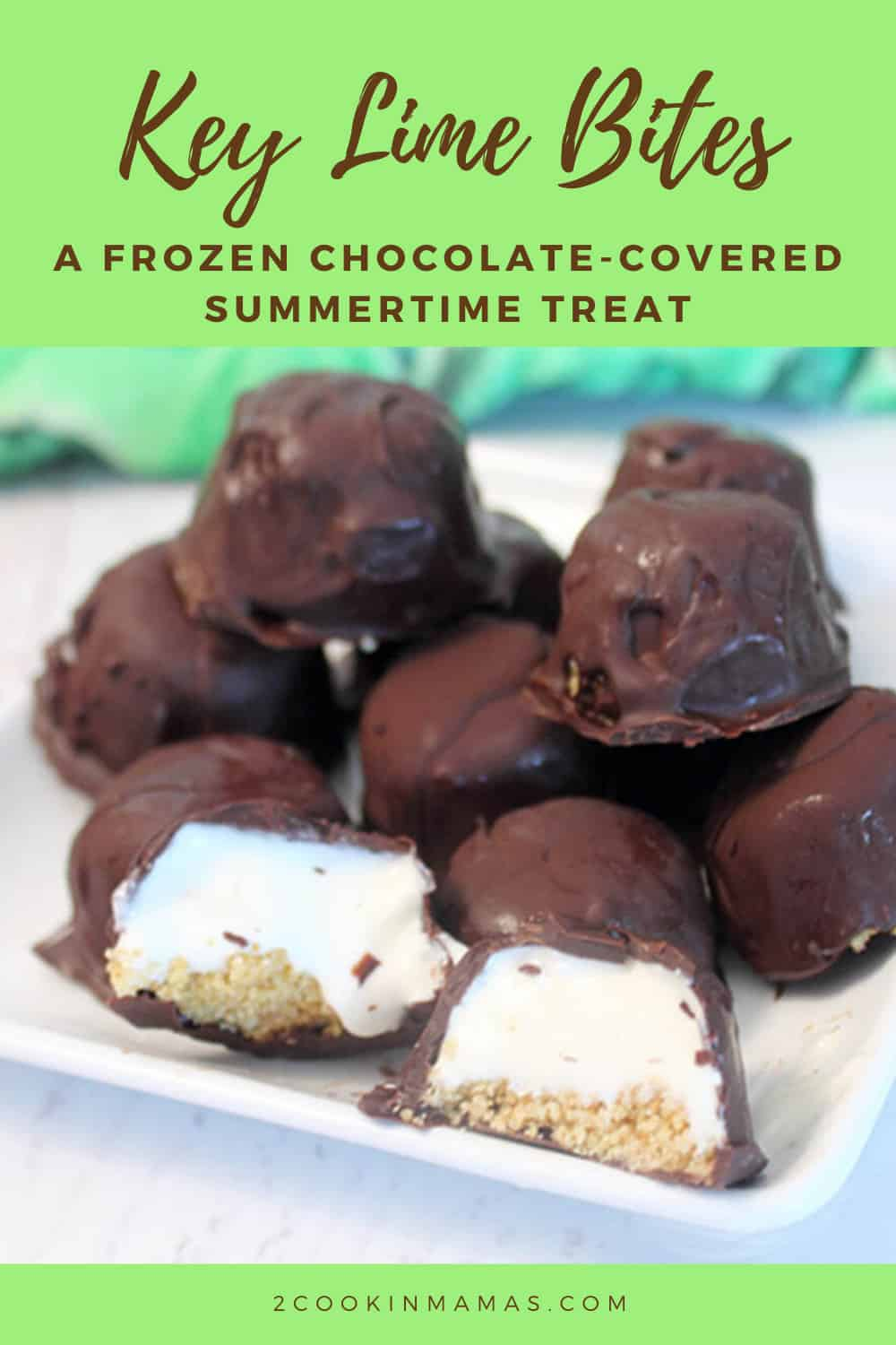 Chocolate Covered Key Lime Bites
