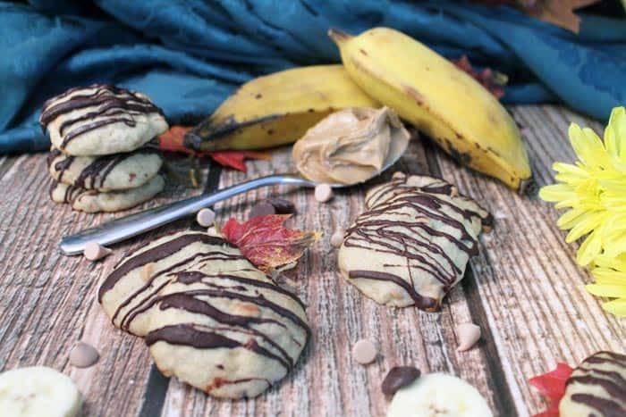 Peanut Butter and Banana Cookies 9   2 Cookin Mamas