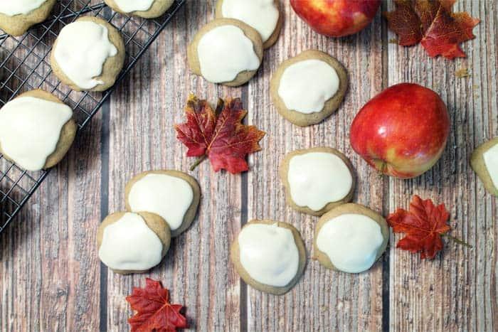 Apple Cider Cookies 2 | 2 Cookin Mamas