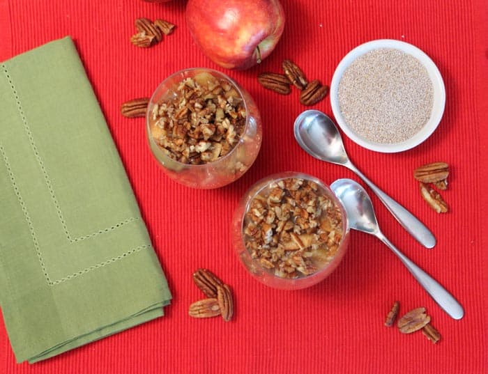Apple Pecan Chia Pudding 1 | 2 Cookin Mamas