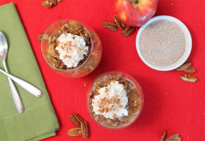 Apple Pecan Chia Pudding 2 | 2 Cookin Mamas