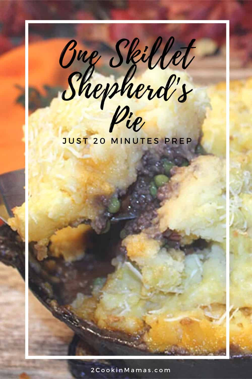 One Skillet Beef Shepherd\'s Pie