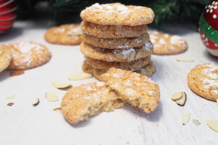 Almond Cloud Cookies 4 | 2 Cookin Mamas