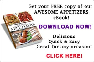 Awesome Appetizers e-book