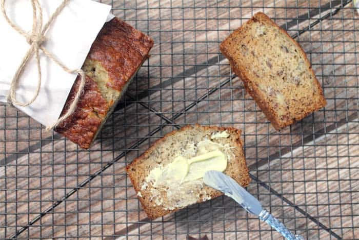 Easy Banana Bread 8 | 2 Cookin Mamas