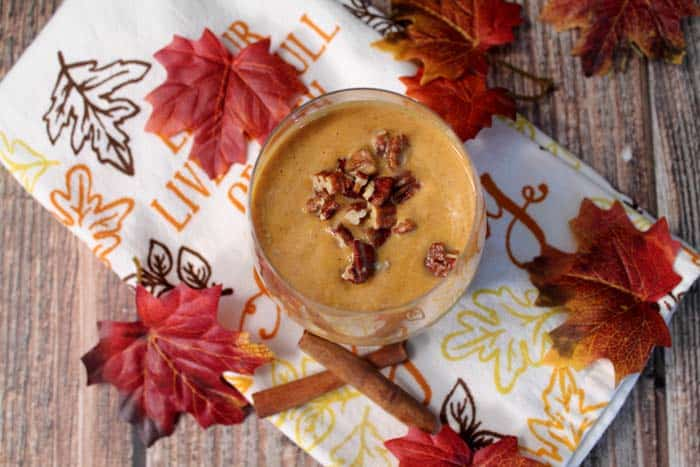 Pumpkin Pie Smoothie | 2 Cookin Mamas