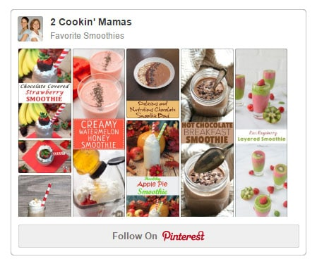 Smoothies Pinterest board photo with link.