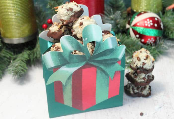 Chocolate Chip Macaroons gift | 2 Cookin Mamas