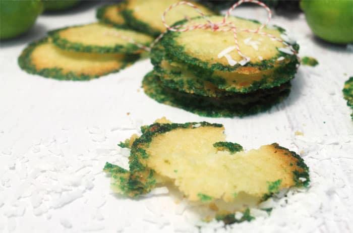 Coconut Lime Crisps 1 | 2 Cookin Mamas