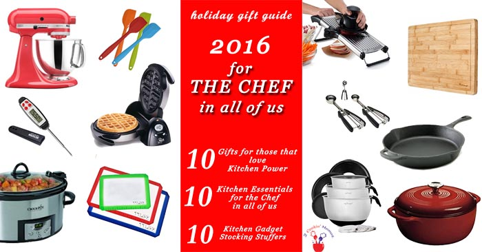 Holiday Gift Guide 2016 | 2 Cookin Mamas